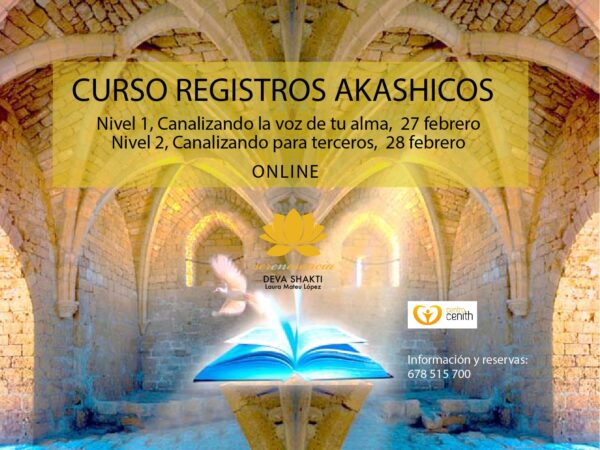 Registros Akashicos On line – Sistema Nadaji (1er y 2do Nivel) 27 y 28 de febrero